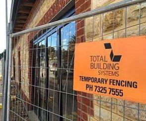 01 Temporary Fencing