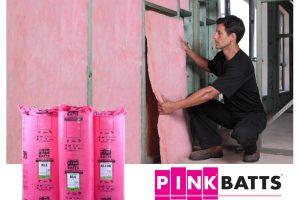 Fletcher Pink Insulation